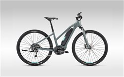 Image of Lapierre Overvolt Cross 400 Womens 2017 Electric Hybrid Bike