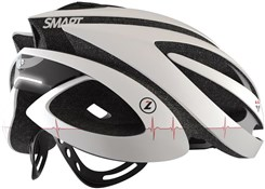 Image of Lazer Genesis LifeBeam - Integrated Heart Rate Monitoring  Road Helmet 2014