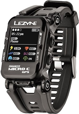 Image of Lezyne Micro Colour GPS Watch Inc Heart Rate Monitor