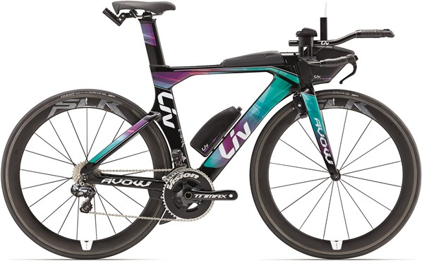 Image of Liv Avow Advanced Pro Womens  2017 Triathlon Bike
