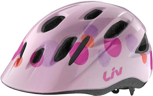 Image of Liv Girls Youth Musa Cycling Helmet - Age 5-10 years 2017