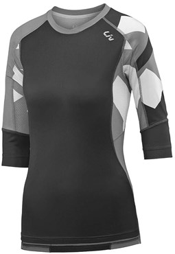 Image of Liv Womens Charm 3/4 Length Sleeve Cycling Jersey