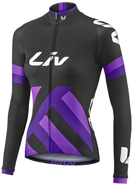 Image of Liv Womens Race Day Mid-Thermal Long Sleeve Cycling Jersey