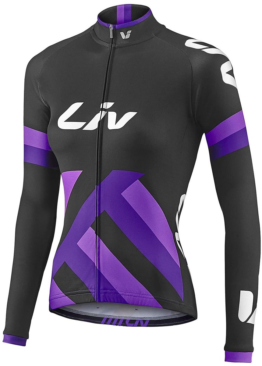 Liv Womens Race Day Mid-Thermal Long Sleeve Cycling Jersey