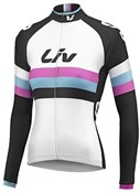 Image of Liv Womens Race Day Thermal Long Sleeve Cycling Jersey