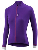 Image of Liv Womens Ricca Merino Long Sleeve Cycling Jersey
