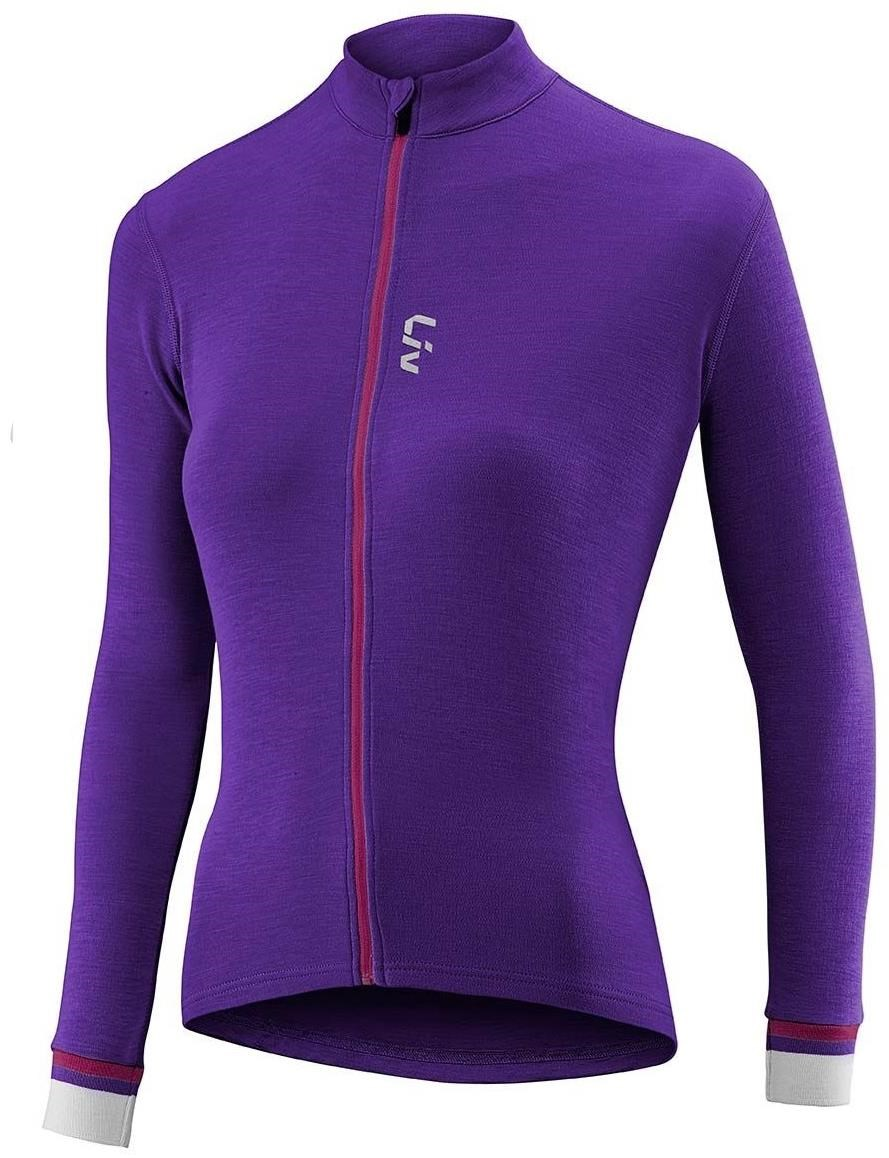 Liv Womens Ricca Merino Long Sleeve Cycling Jersey