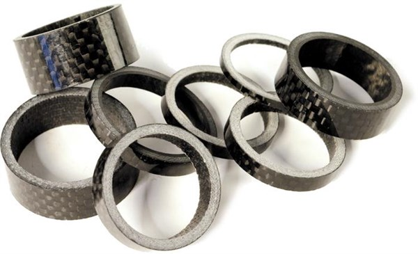 Image of M Part Carbon Fibre Headset Spacer 1 Inch