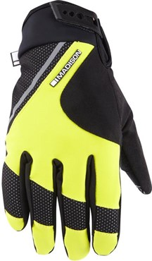 Image of Madison Avalanche Mens Long Finger Cycling Gloves SS16