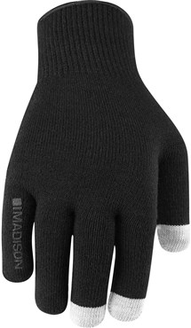 Image of Madison Isoler Merino Mens Winter Long Finger Cycling Gloves AW16