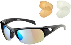 Image of Madison Mission Cycling Glasses 3 Lens Pack 2016