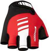 Image of Madison Peloton Mens Mitts Short Finger Cycling Gloves SS17