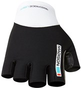 Image of Madison RoadRace Mens Mitts Short Finger Cycling Gloves SS17