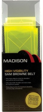 Image of Madison Sam Browne Reflective Belt