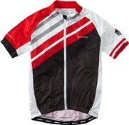 Image of Madison Sportive Full Zip Mens Short Sleeve Jersey AW16