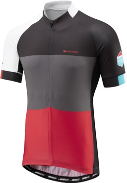 Image of Madison Sportive Half-Zip Mens Short Sleeve Jersey AW16