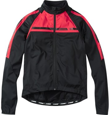 Image of Madison Sportive Mens Convertible Softshell Windproof Cycling Jacket AW16