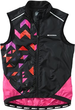 Image of Madison Sportive Womens Windproof Shell Gilet AW16