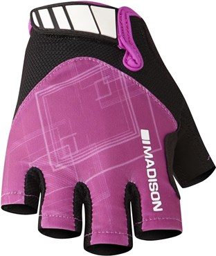 Madison Womens Sportive Mitts Short Finger Cycling Gloves SS17