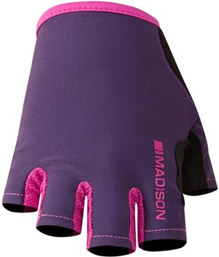 Image of Madison Womens Track Short Finger Cycling Gloves AW16
