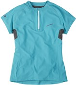 Image of Madison Womens Zena Short Sleeve Cycling Jersey AW16