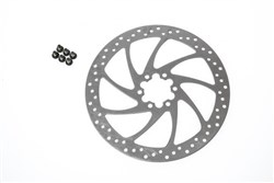 Image of Magura Disc Brake Rotor 6 Hole With Mounting Bolts