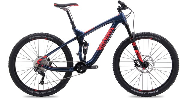 "Image of Marin Mount Vision 7 Carbon 27.5"" / 650B  2017 Mountain Bike"
