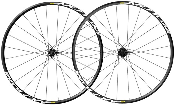 Image of Mavic Aksium Disc Road Clincher Wheels 2017
