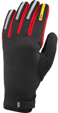 Image of Mavic Aksium Thermo Long Finger Cycling Gloves