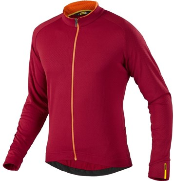 Image of Mavic Aksium Thermo Long Sleeve Cycling Jersey