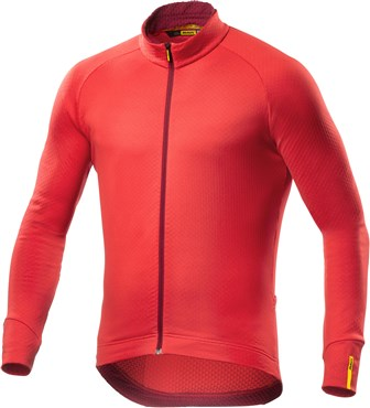 Image of Mavic Aksium Thermo Long Sleeve Cycling Jersey AW16