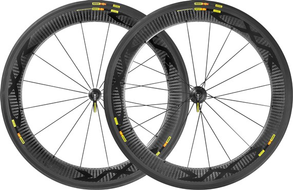Image of Mavic CXR Ultimate 60 C Clincher Road Wheels 2017