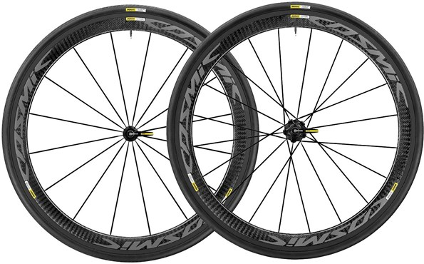 Image of Mavic Cosmic Pro Carbon Exalith Road Wheels 2017