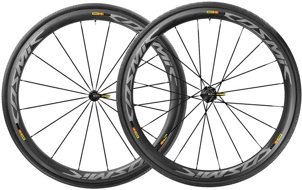 Image of Mavic Cosmic Pro Carbon SL Tubular Road Wheelset 2017
