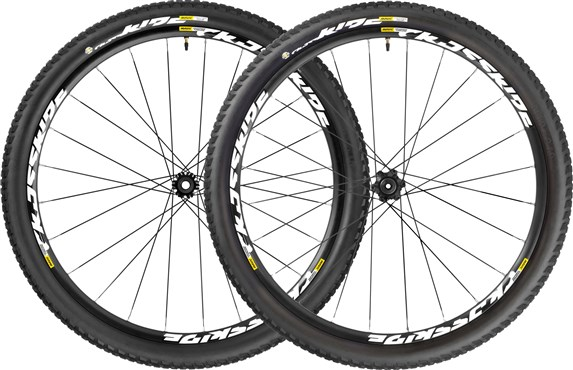 "Mavic Crossride UST Pulse WTS MTB Wheels - 29"" - 2017"