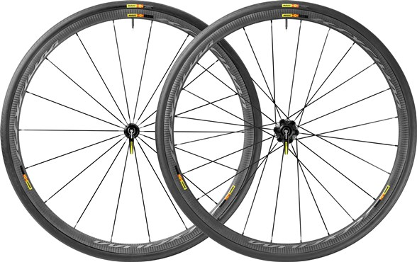 Image of Mavic Ksyrium Pro Carbone SL C Clincher Road Wheels 2017