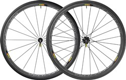 Image of Mavic Ksyrium Pro Carbone SL T Tubular Road Wheels 2017