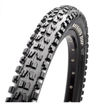"Image of Maxxis Minion DHF 2Ply ST DH MTB Off Road Wire Bead 26"" Tyre"