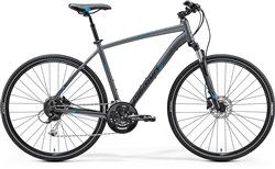 Image of Merida Crossway 100 2017 Hybrid Bike