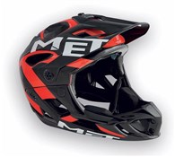 Image of Met Parachute Full Face MTB Helmet 2017