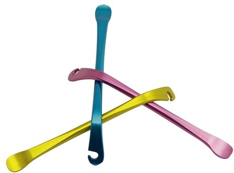 Image of Minoura 3 Colour Alloy Tyre Levers