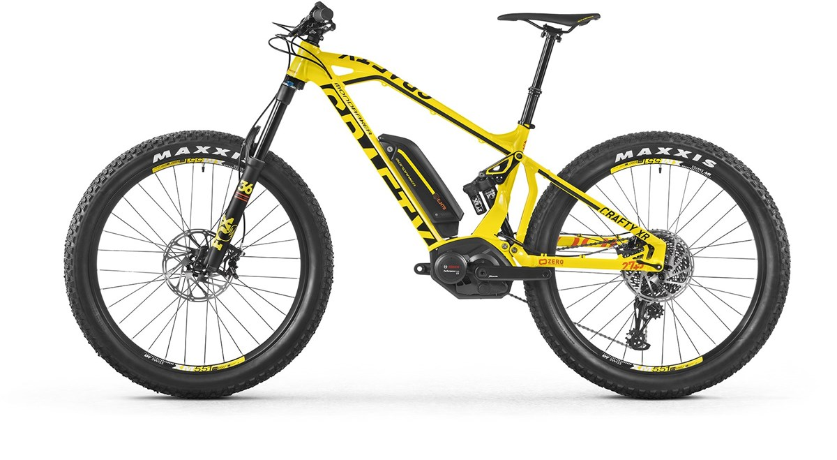 "Mondraker E-Crafty XR + 27.5"" 2017 Electric Mountain Bike"