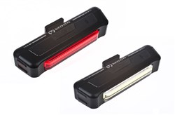 Image of Moon Comet 100 Lumen Front and 35 Lumen Rear USB Rechargeable Light Set