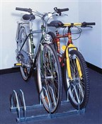 Image of Mottez 3 Bike Floor Mount Storage Rack