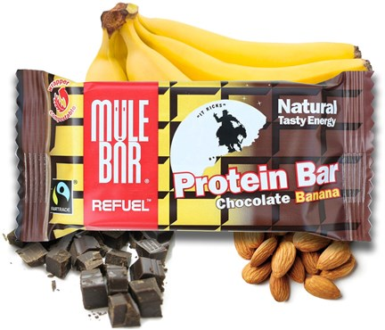 Image of Mulebar ReFuel Protein Bars - 65g x Box of 20