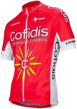 Image of Nalini Cofidis Replica Team Cycling Short Sleeve Jersey SS16