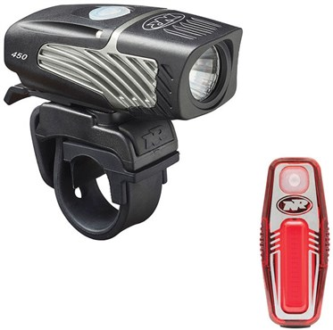 Image of NiteRider Lumina 450 Micro/Sabre 50 Combo USB Rechargeable Light Set