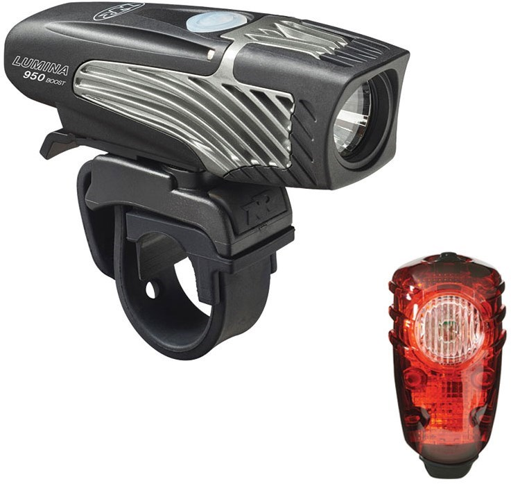 NiteRider Lumina 950 Boost/Solas 100 Combo USB Rechargeable Light Set
