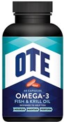 Image of OTE Omega-3 Fish and Krill Oil 60 Tablets