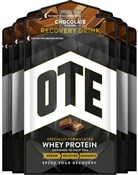Image of OTE Whey and Casein Protein Recovery Drink Mix - 52g x Box 14